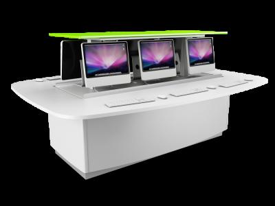 Versatile ICT Suite Island Desk