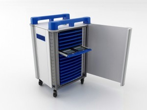 Laptop Storage and Charging Trolleys