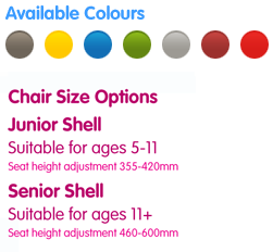 Swivel Classroom Chair Colours