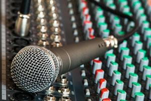 School Hall AV - Microphone