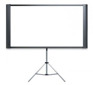 School Hall AV Projector Screen Tripod