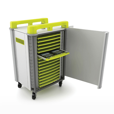 Lapcabby Tabcabby Tablet Charging Trolley - Yellow
