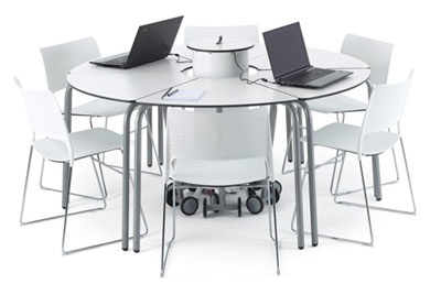 ICT Classroom Student Table - Circle