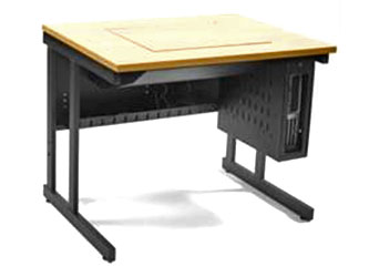 ICT Versatile Flip Desk - Closed