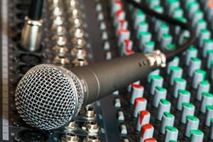 School Hall AV - Microphone