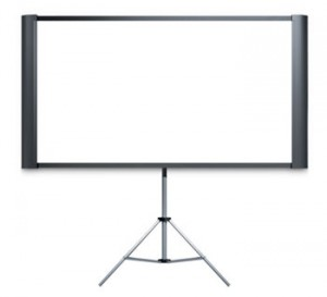 School Hall AV Projector Screen Tripod